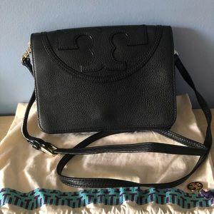 Tory Burch Crossbody - Pebbled Leather